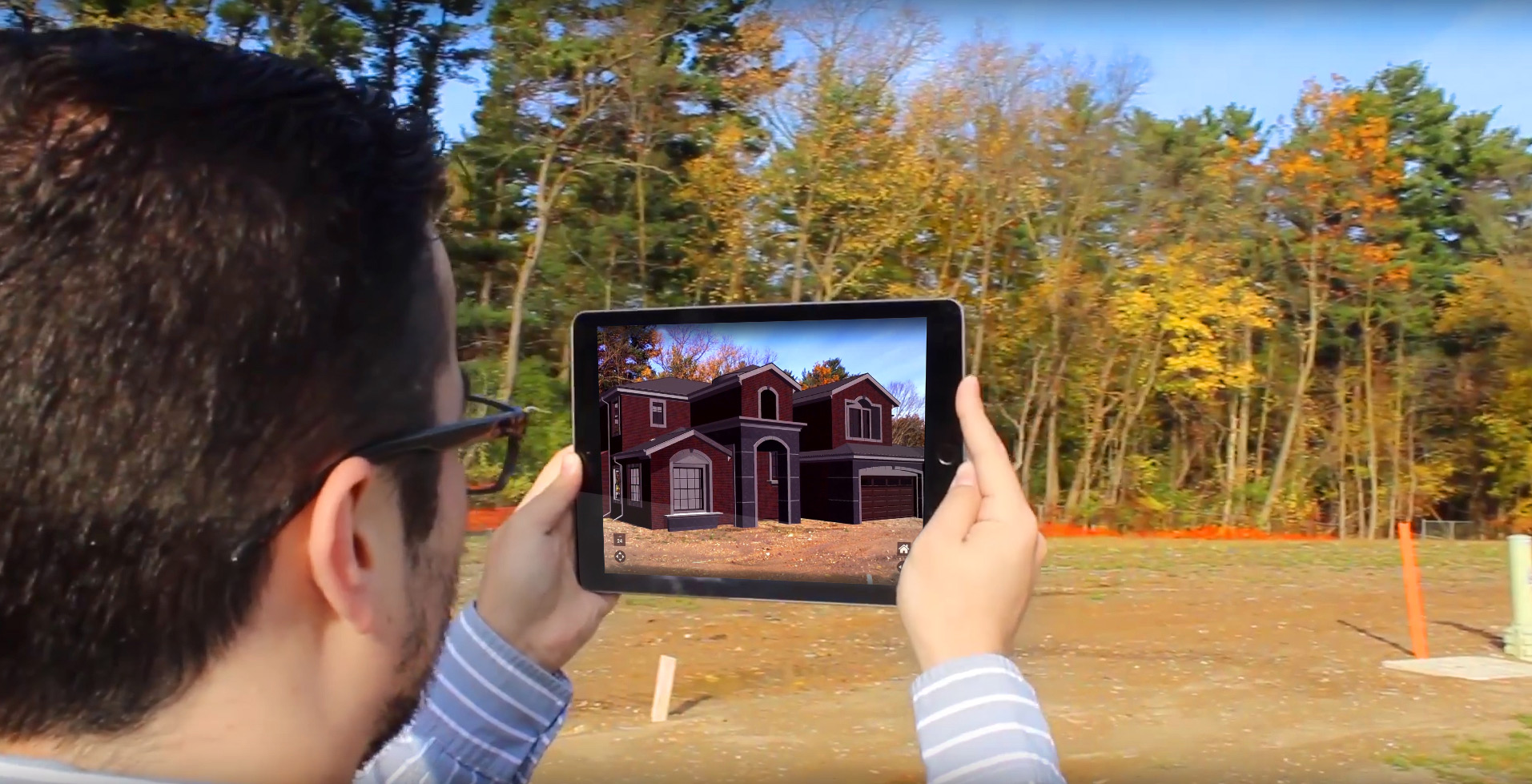 Augmented Reality Lot Selection Application
